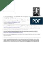 Castells - Crisis, Planificacion y Calidad de Vida. Manejo de Nuevas Relaciones Espacio - Sociedad