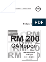 Isotron Systems - RM200 Canopen Manual