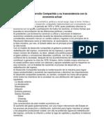 Modelo de Desarrollo Compartido y su trascendencia con la economía actual