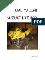 Suzuki LTZ400 - Libro de taller