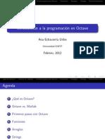 Programación en Octave