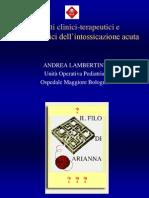 II Parte Intossicazioni Dr Lambertini