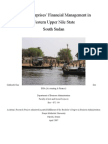 Financial Management for Micro-Enterprises in Western Upper Nile - Final Edition