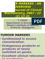 Tumour Markers Ppt by dr vijay