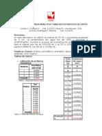 Manejo de La Balanza Analitica y Analisis Estadistico de Datos Si
