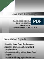 Java Card Technology