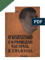 O Marxismo e o problema Nacional e Colonial - Stalin - (II)