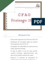 CFAO_Fraisage 2D & Demi