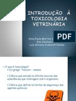 introdução toxicologia