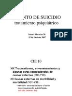 Intento de Suicidio Ismael Morocho