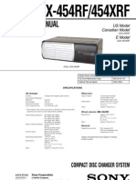 CDX-454RF,454XRF