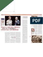 «Pino Caruso, prima era il cabaret, oggi gli aforismi»