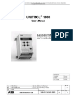 Unitrol 1000 User s Manual e3