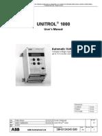 Unitrol 1000 User s Manual e3