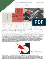 Making Modernities - The Avant Garde & Social Change