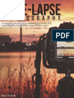 Time-Lapse Photography eBook by Ryan Chylinski 25 Page Preview