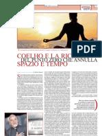 «Coelho  e la ricerca del punto zero che annulla spazio e tempo»