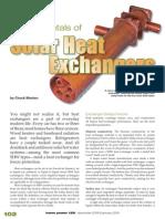 Solar Heat Exchanger Article
