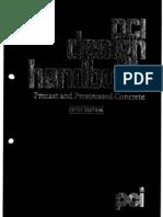 PCI Handbook Precast Pre Stressed