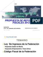01- REFORMAS 2012 - Armando Azpe