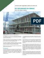 Redes de Seguridad en obras de construcción