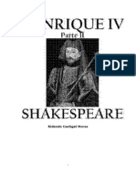 Willian Shakespeare - Henrique IV [Parte 2]