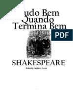 Willian Shakespeare - Tudo Bem Quando Termina Bem