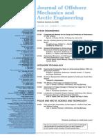 Journal Off Shore Engineering 2012-2