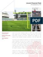 Lincoln Financial Field - landscape installation overview