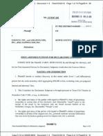 Davis v Google complaint