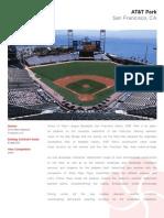 AT&T Park - landscape installation overview