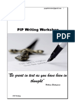 PIP Writing Workshop Manual