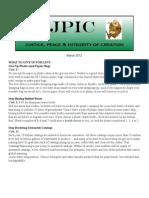 JPIC Newsletter March 2012