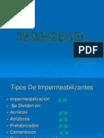 TRABAJO DE IMPERMEABILIZACION