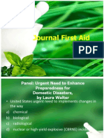 Journal First Aid