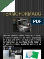 Presentación termoformado