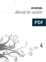 Manual Celular - GT-E2152_UG_BR