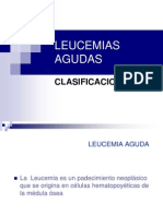 Archivos Clases Pregrado Hematologia LEUCEMIAS CLINICA