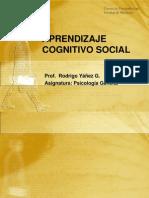 Clase Aprendizaje Cognici n SOCIAL 2011 Fono