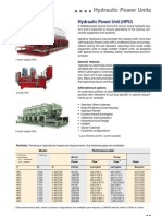 Hydraulic Power Units