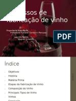 Processos de fabricação de vinho