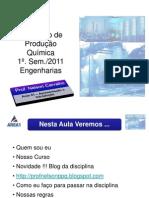 Aula 01 - inicial - Introdução Processos Industrias Sustentaveis - Eng. Produção - 04.02.11