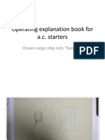 Operating Explanation Book for A