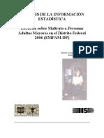 Analisi Estadistico Sobre Maltrato a Adultos Mayores