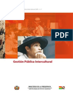 Gestion Publica Intercultural Bolivia
