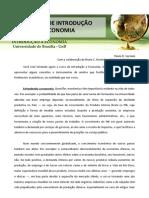 Texto 1 - O Curso de Introducao a Economia (2011)