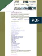 APB Pole Barns Building Guide