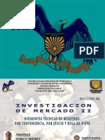 MUESTREO NO PROBABILISTICO INVESTIGACION DE MERCADO JOSE CARBALLO2012