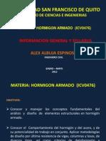 USFQ Syllabus Hormigon Armado