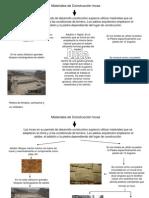 Materiales de Construccion Incas Adobe y Piedra